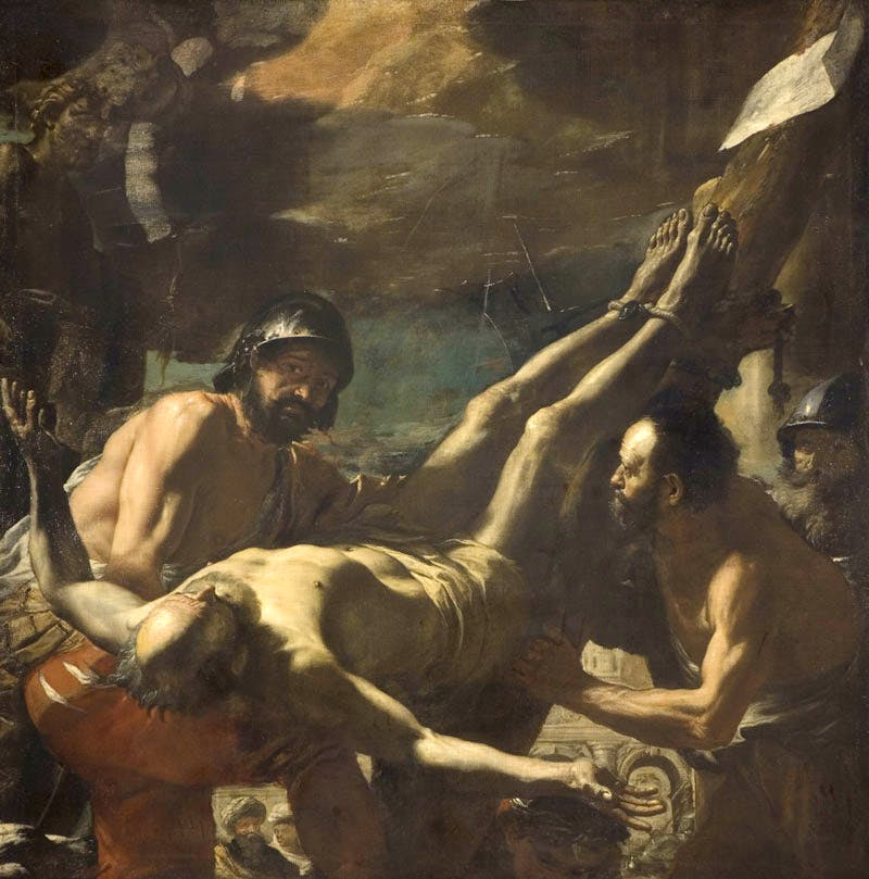 The Crucifixion of Saint Peter (1656–59), Mattia Preti, called II Calabrese. © The Barber Institute of Fine Arts, University of Birmingham