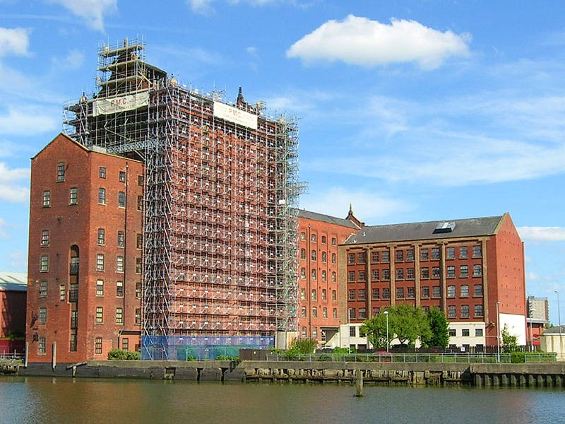 Victoria Mill, Grimsby, Lincolnshire. Photo copyright The Victorian Society