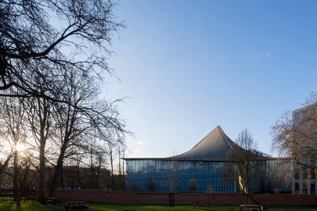London's Design Museum at its Kensington site.