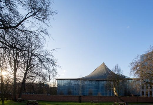 London's Design Museum at its Kensington site.