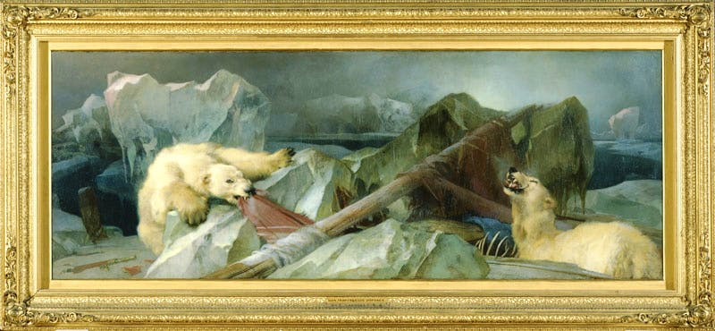 Man Proposes God Disposes by Edwin Landseer (1864), Edwin Landseer.