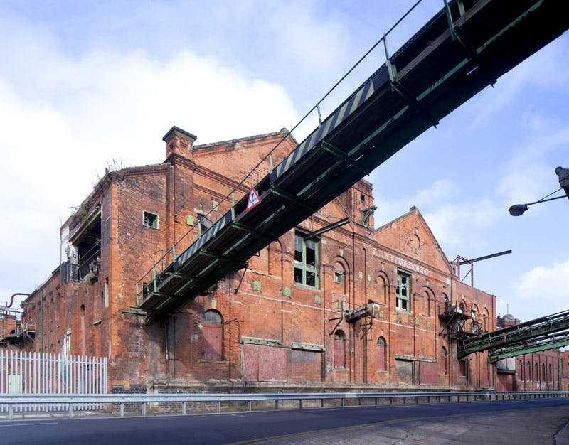 An exterior view of the Grimsby Ice Factory