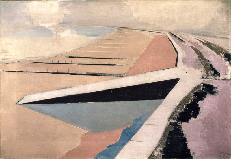 The Shore (1923), Paul Nash. Leeds Art Gallery / Bridgeman Images. © Tate