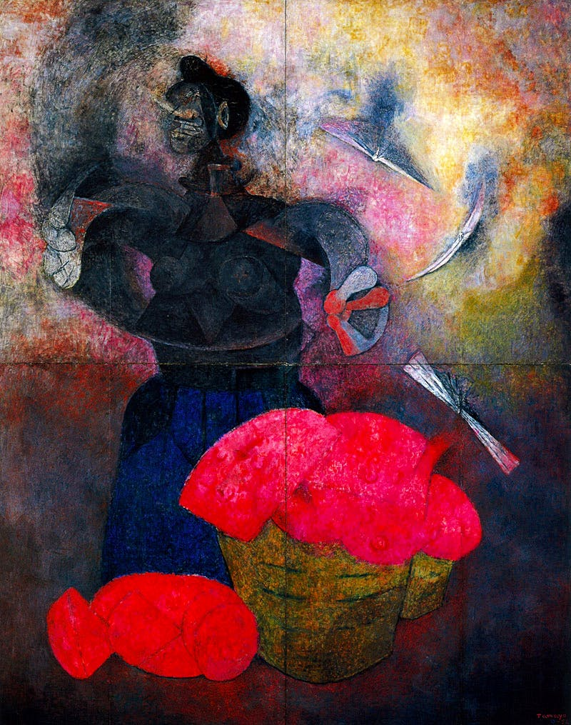 Homage to the Indian Race (1952), Rufino Tamayo. ©Rufino Tamayo/Visual Artists and Galleries Association, New York, New York