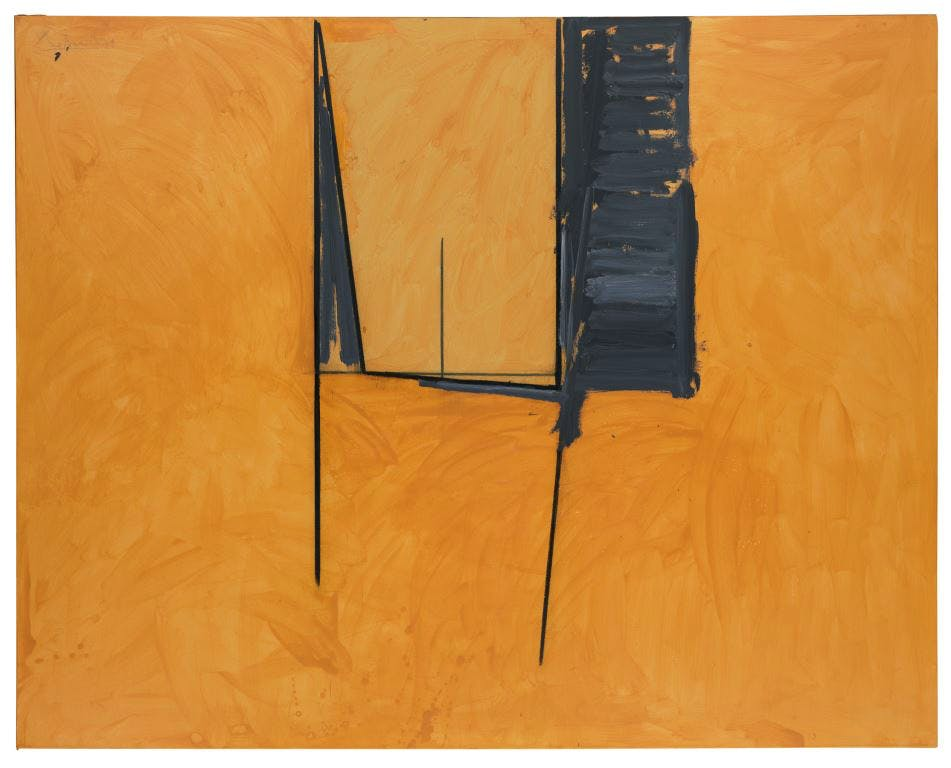 Mexican Window (1974), Robert Motherwell. Courtesy Bernard Jacobson Gallery