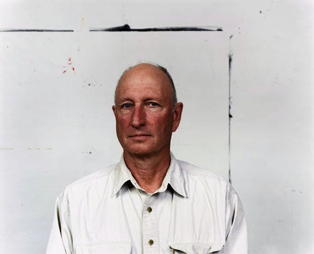 Portrait of Bruce Nauman. Photo © Jason Schmidt 2009