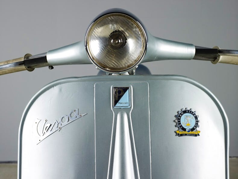 Vespa Clubman designed by Corradino d'Ascanio and made by Piaggio 2.