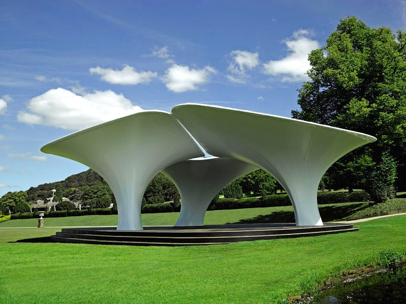Lilas (2007), Zaha Hadid at 'Beyond Limits' at Chatsworth.