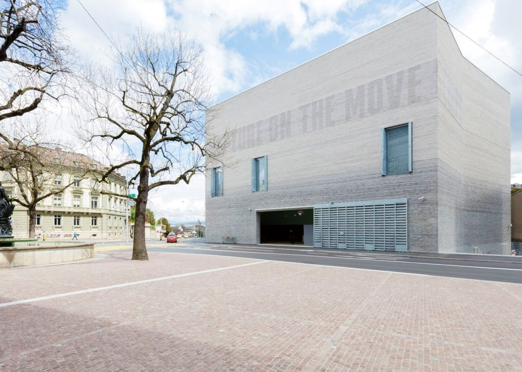 The Kunstmuseum Basel's new extension, designed by the Swiss architects Christ & Gantenbein