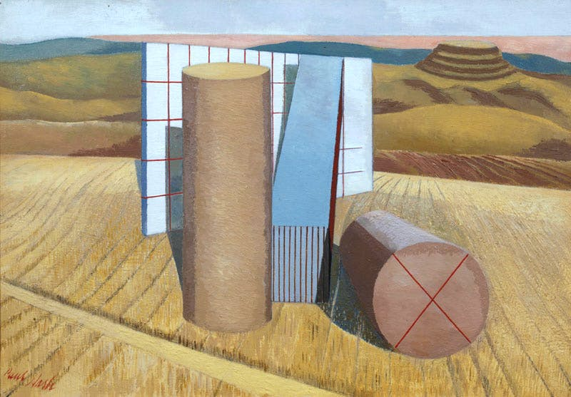 Equivalents for Megaliths (1935), Paul Nash. © Tate