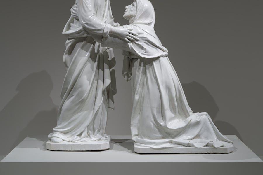 The Visitation (c. 1445), Luca della Robbia. © Museum of Fine Arts, Boston