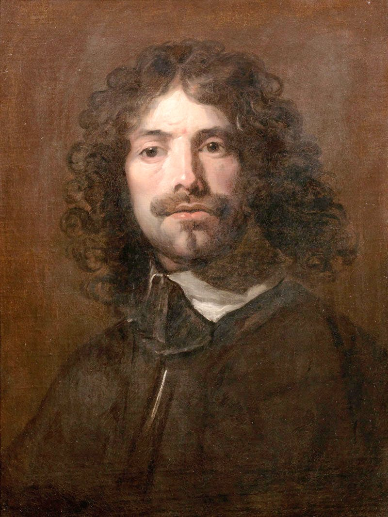 Portrait of the artist, bust-length, in a black tunic and white collar (late 1630s), William Dobson. Bonhams, £1.1m. Apollo Magazine Art Market Review