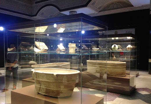 Inside the Basrah Museum. Photo: Eleanor Robson