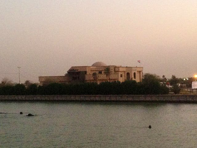 View of the Basrah Museum from the Shatt al-Arab. Photo: Eleanor Robson