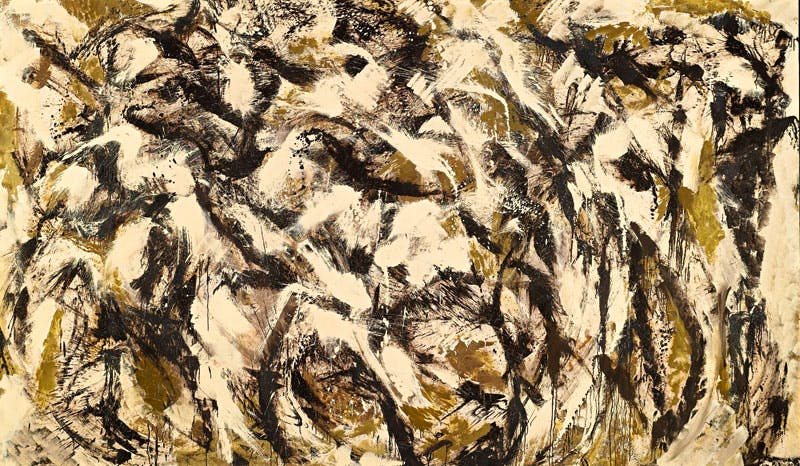 Polar (1960), Lee Krasner. Stampede Sotheby's New York, $3.2m. Apollo Magazine Collectors' Focus: Abstract Expressionism