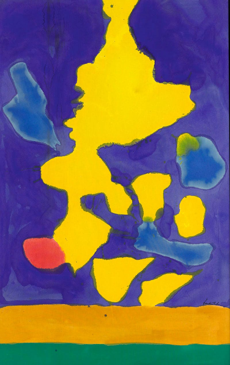Saturn Revisited (1964), Helen Frankenthaler. Sotheby's New York, $2.8m. Apollo Magazine Collectors' Focus: Abstract Expressionism