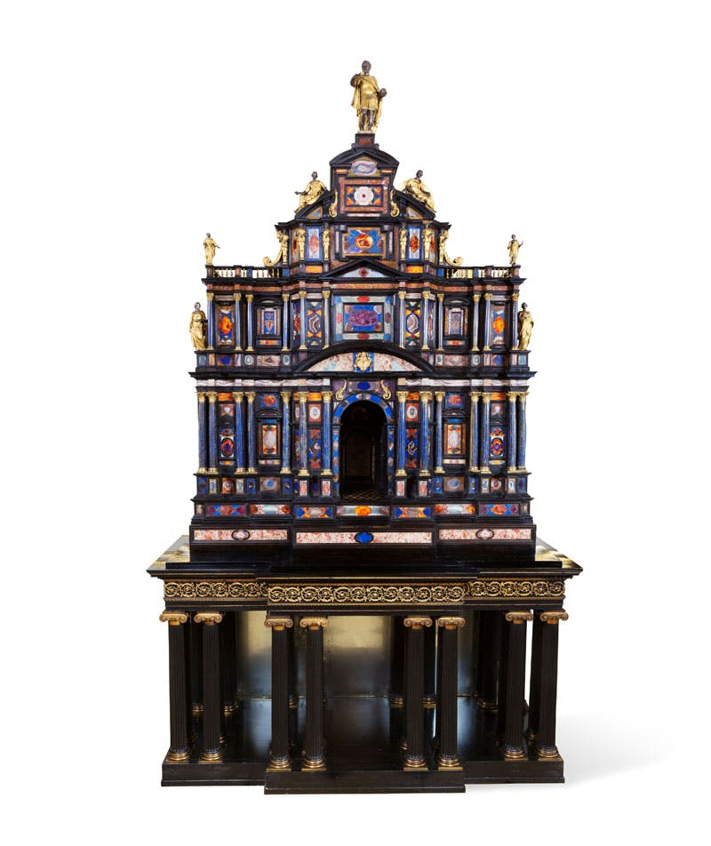 The Borghese-Windsor Cabinet, Rome