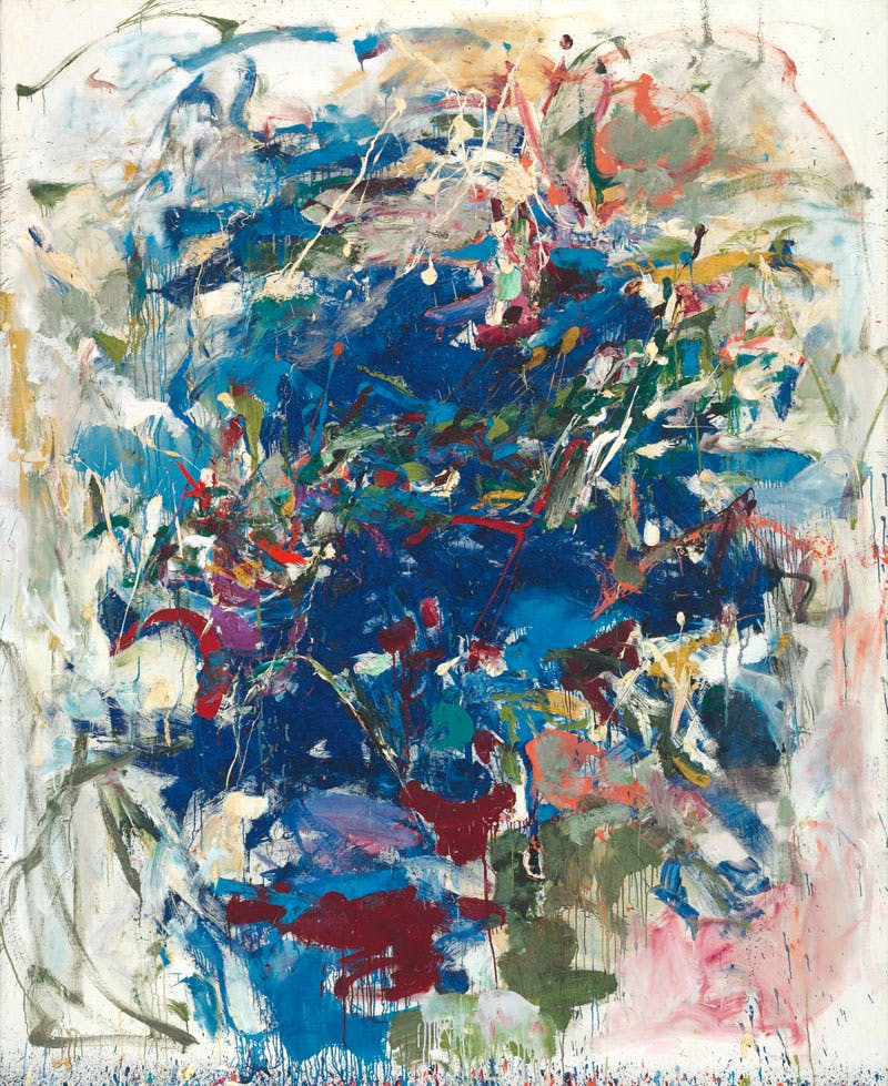 Untitled (1960), Joan Mitchell. Christie's New York, $11.9m. Apollo Magazine Collectors' Focus: Abstract Expressionism