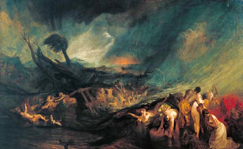 The Deluge ?exhibited 1805 by Joseph Mallord William Turner 1775-1851