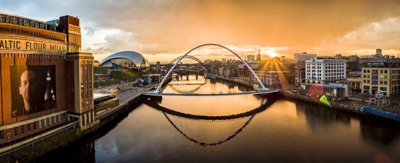 Newcastle and Gateshead Quayside. Photo: Visit England