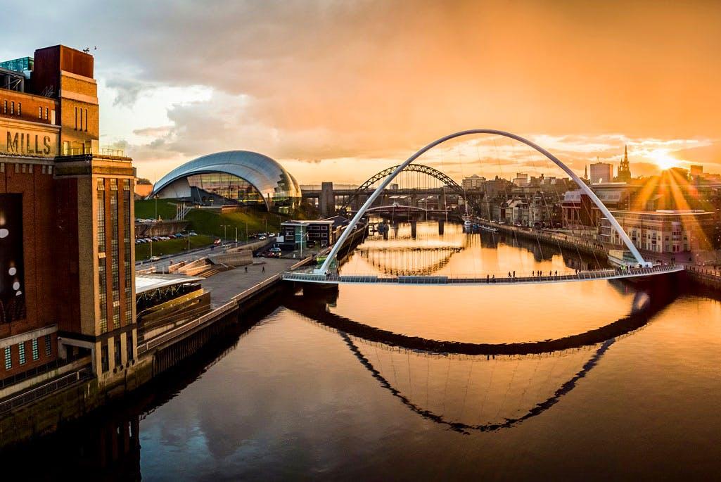 Newcastle and Gateshead Quayside. Photo: Visit England