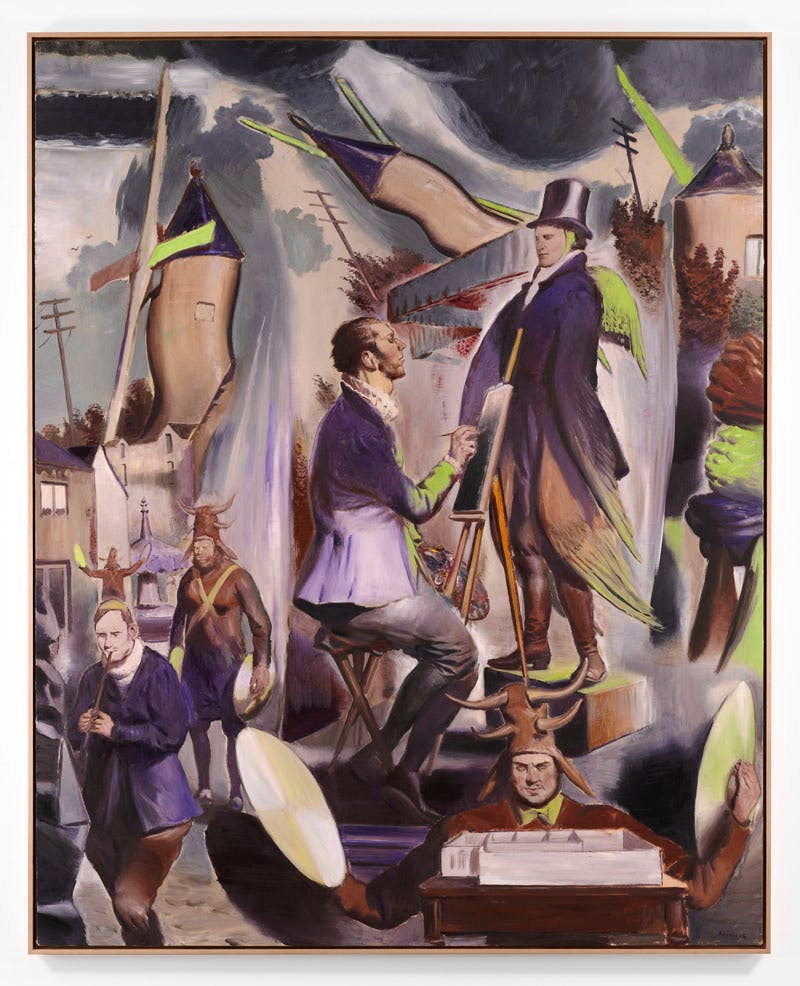 Der Auftakt (2016), Neo Rauch. Courtesy David Zwirner, New York/London
