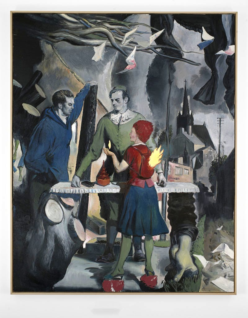 Das Angebot (2016), Neo Rauch. Courtesy David Zwirner, New York/London