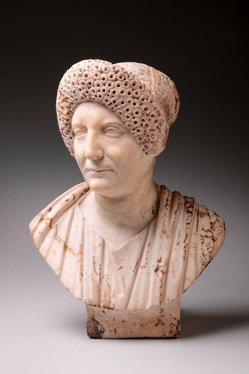 Bust of a Flavian Matron