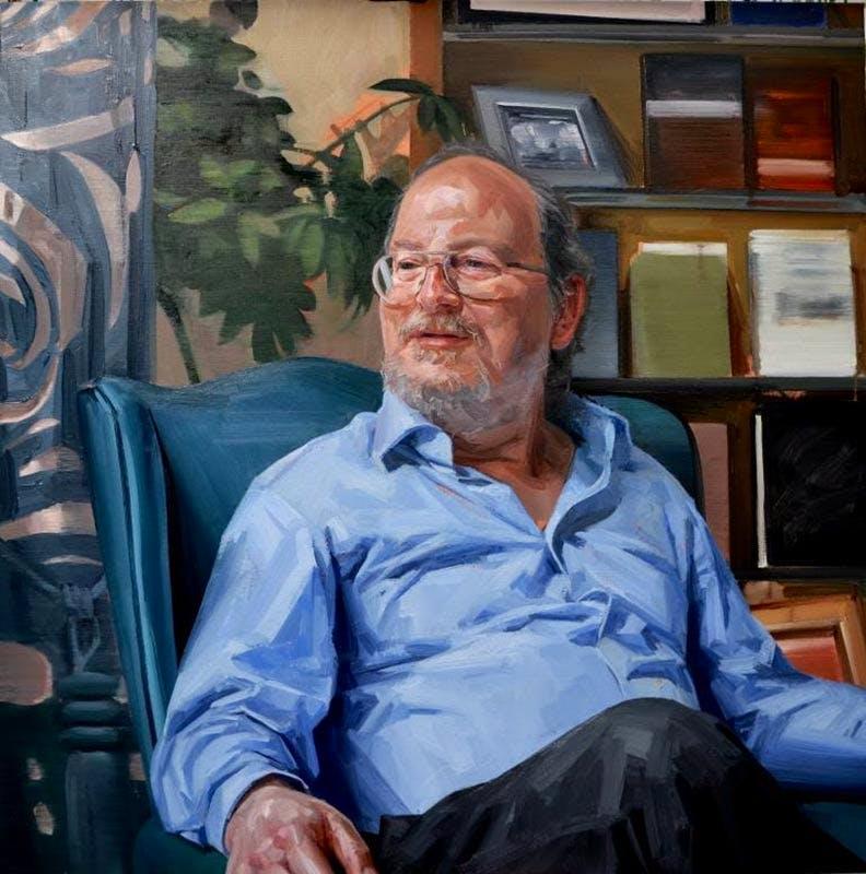 Professor Paul Webley, by Tai Shan Schierenberg