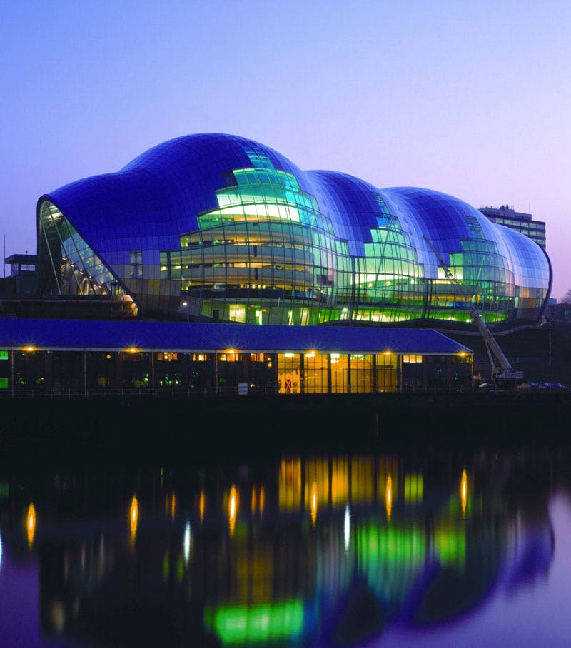 The Sage, Gateshead. Photo: Graeme Peacock