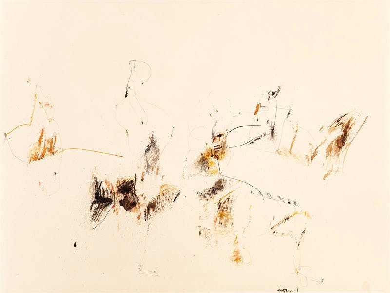 Untitled (1961), John Altoon. The Menil Collection, Houston. © The Estate of John Altoon