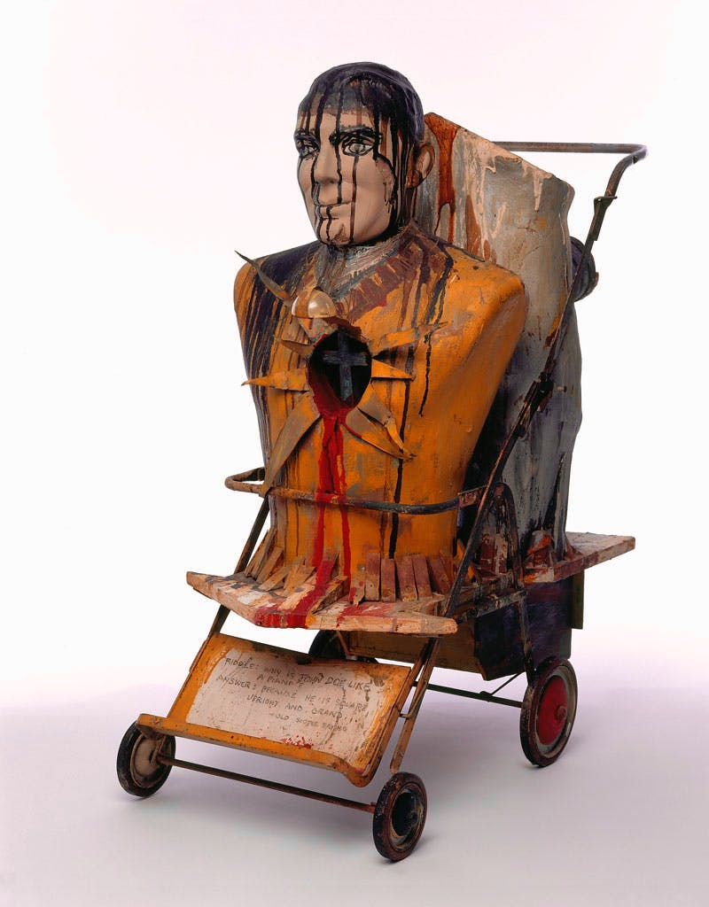 John Doe (1959), Edward Kienholz. The Menil Collection, Houston. Copyright Kienholz. Courtesy of L.A. Louver, Venice, CA. Photo: George Hixson