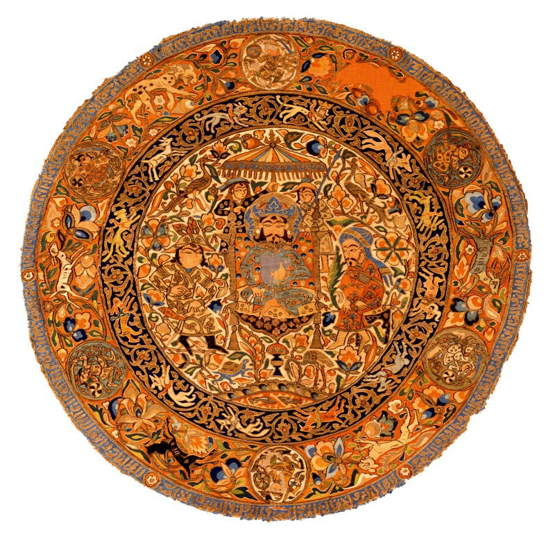Medallion (first half of 14th century), Iraq or western Iran. David Collection, Copenhagen