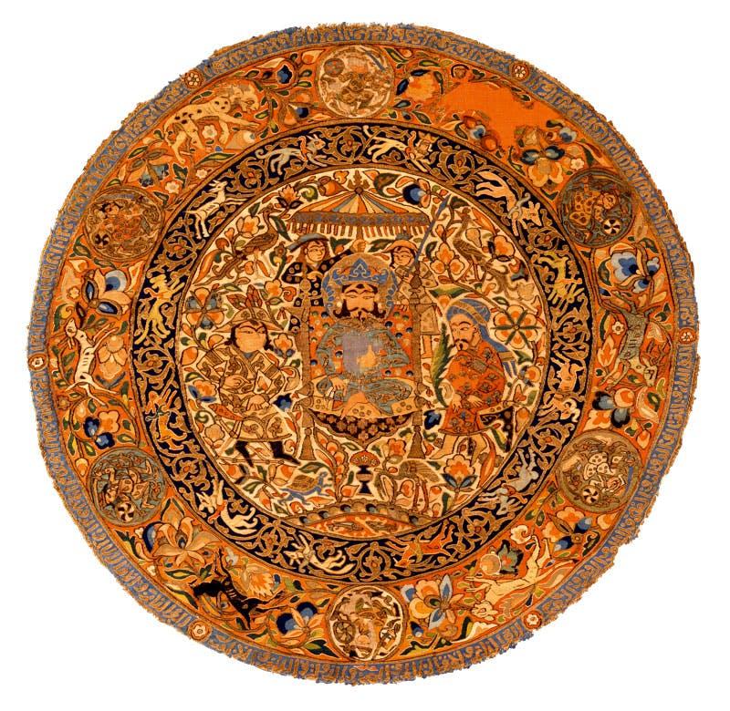 Medallion (first half of 14th century), Iraq or western Iran. David Collection, Copenhagen