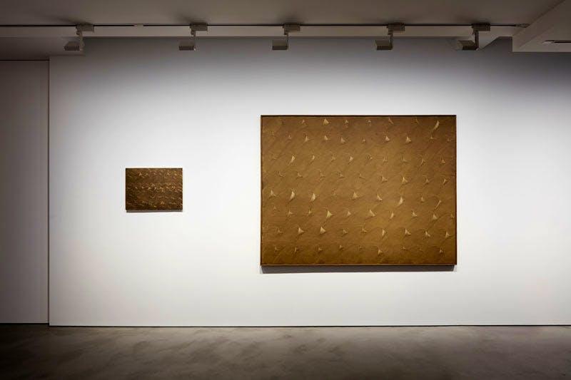 'Cho Yong-Ik', installation view at Olivier Malingue, 2016