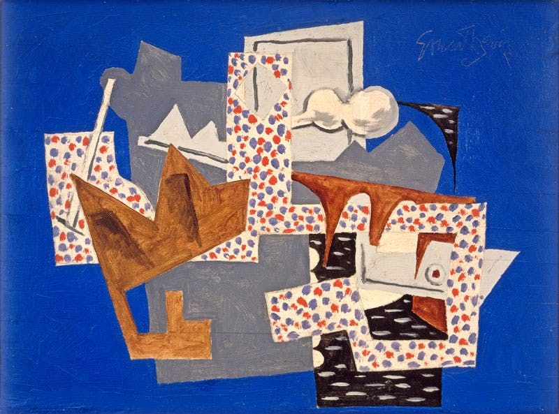 Landscape, Gloucester (1922/1951/1957), Stuart Davis. Ted and Mary Jo Shen. Art © Estate of Stuart Davis/Licensed by VAGA, New York, NY