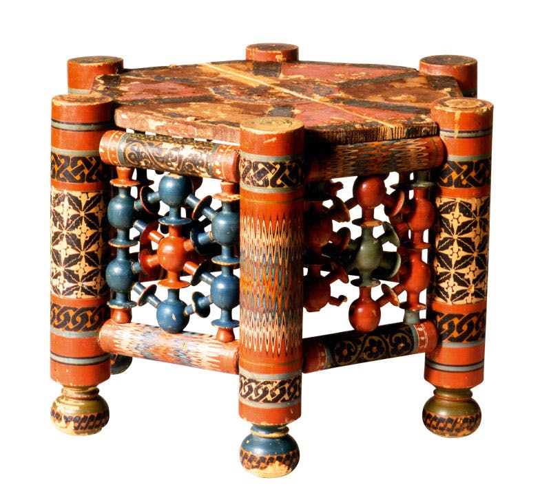 Hexagonal table (11th–12th century), Afghanistan. David Collection, Copenhagen