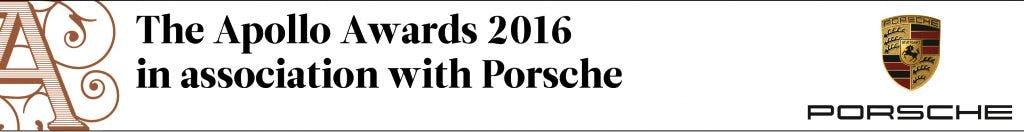 The Apollo Awards 2016 in association with Porsche