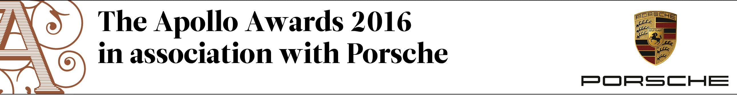 The Apollo Awards 2016 in association with Porsche