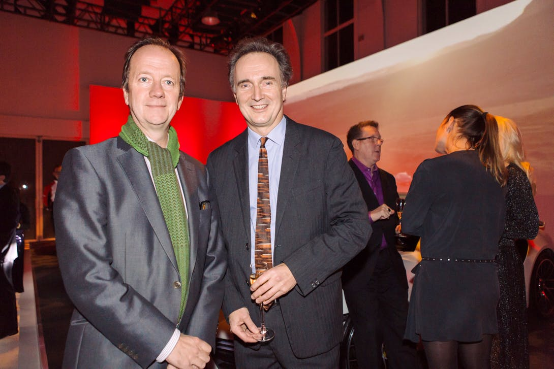 Graham Southern and Andrew Ellis at the Apollo Awards 2016. Photo © Amy Scaife
