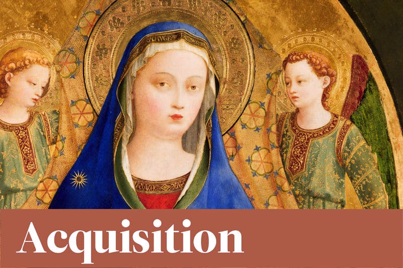 Apollo Awards 2016 - Acquisition of the Year - Virgin of the Pomegranate, Fra Angelico, at the Museo del Prado