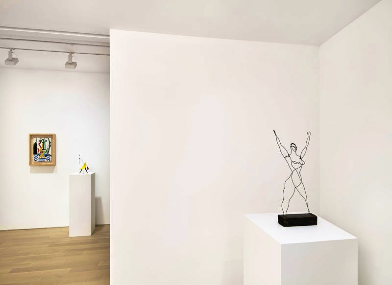 Installation View: 'Calder and Picasso', Almine Rech Gallery, New York, 2016