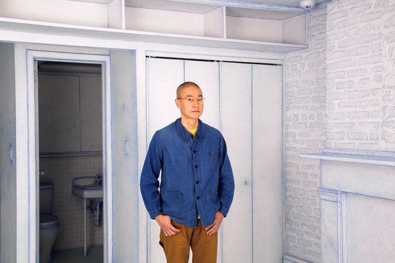 Do Ho Suh (b. 1962), photographed at his home in New York in October 2016. Photo: Dina Kantor