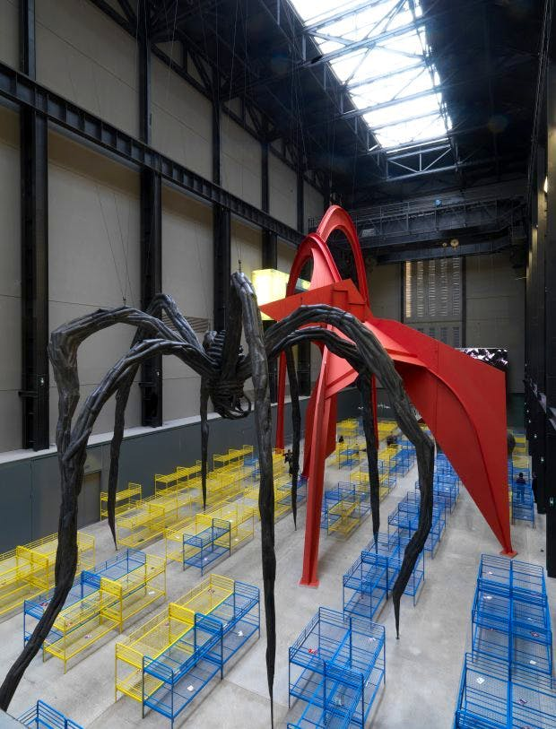 Installation view of Dominique Gonzalez-Foerster's TH. 2058 (2008–09), in the Turbine Hall, Tate Modern.