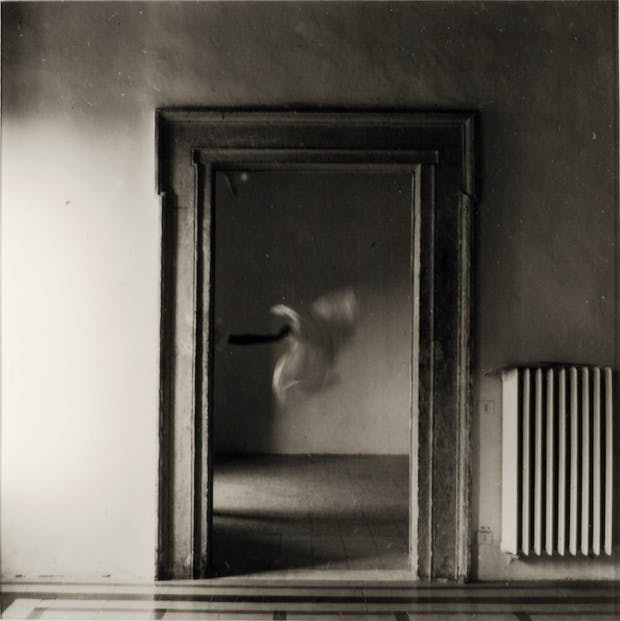 From Angel Series, Roma, September, 1977, Francesca Woodman.