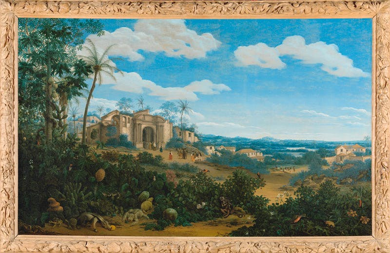 View of Olinda (1662), Frans Post. Brazil Rijksmuseum, Amsterdam. Apollo magazine