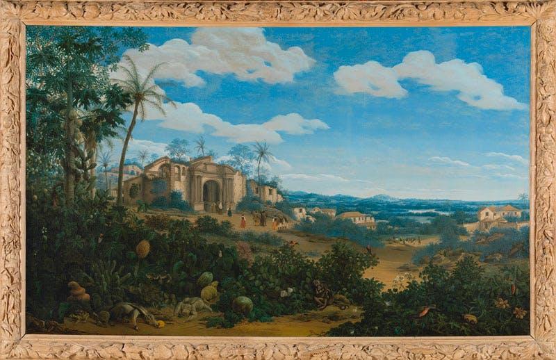 View of Olinda (1662), Frans Post. Brazil Rijksmuseum, Amsterdam. Apollo magazine