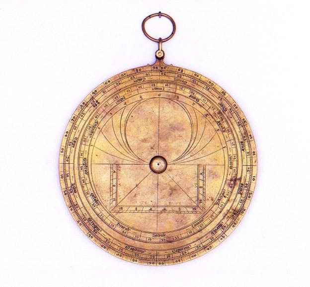 Astrolabe (c. 1390–1416), workshop of Jean Fusoris.
