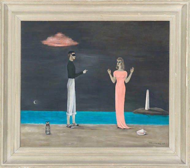 The Courtship, (1949), Gertrude Abercrombie.