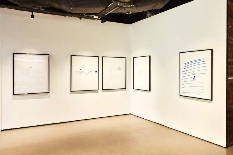 Installation view of 'Koo Jeong-A: Riptide' at the Korean Cultural Centre UK. Photo: courtesy the artists and the KCCUK